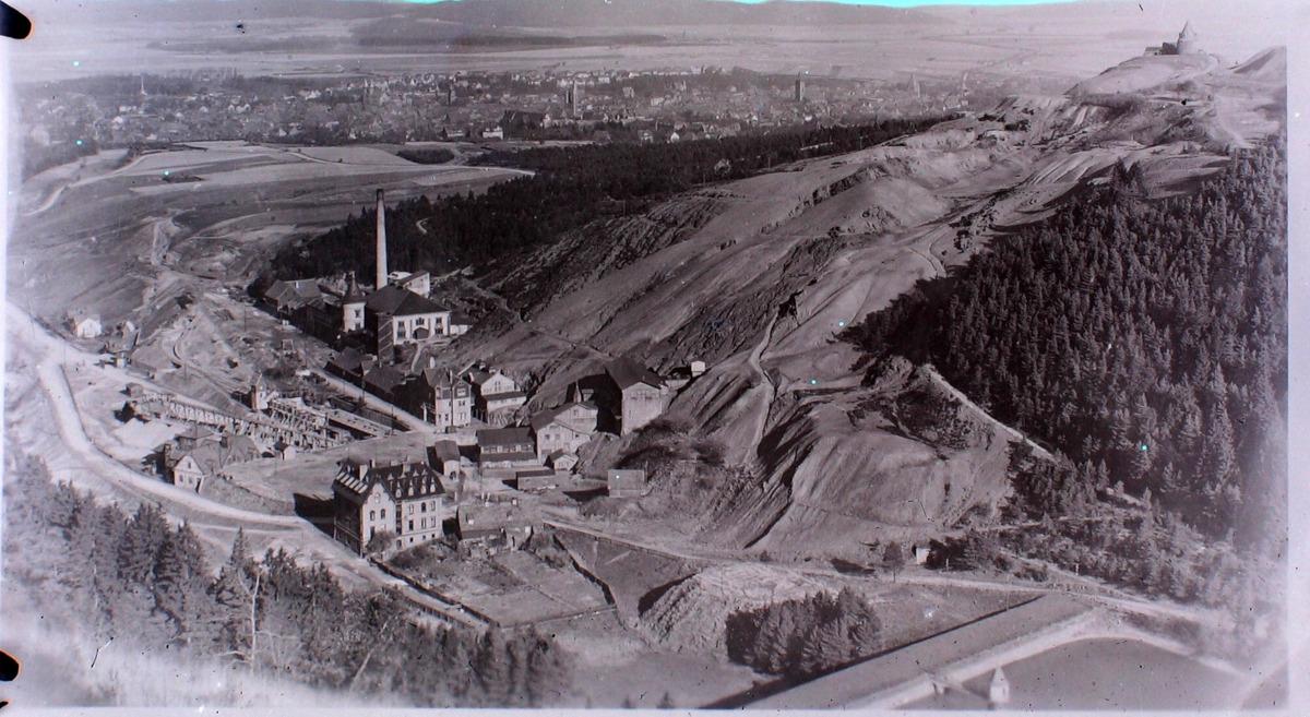 Altbergbau 3D: Der Rammelsberg. Historische Aufnahme um 1910.